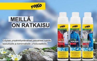 Toko Eco Wash tuotesarja